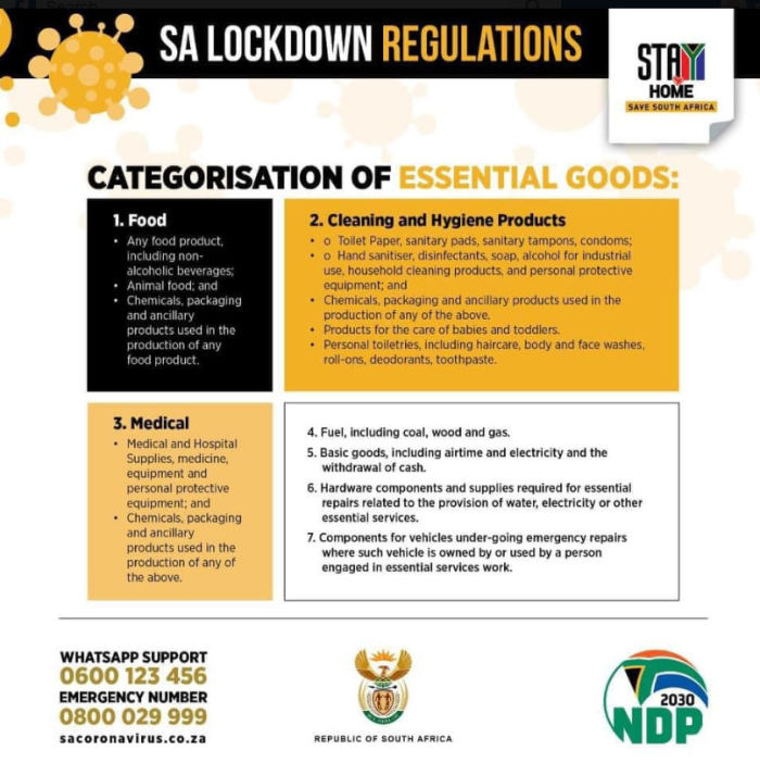 READ Extended Lockdown Rules at a glance