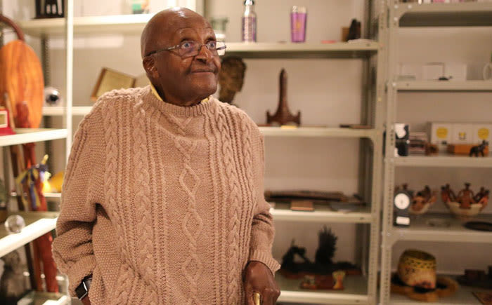 Emeritus Desmond Tutu admitted to hospital for 'stubborn infection'