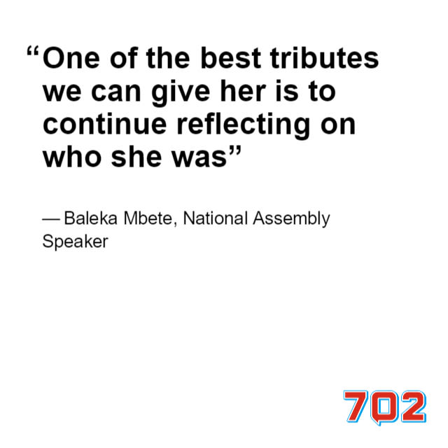 Travel alert for Fourways residents on Saturday for the burial of struggle stalwart, Winnie Madikizela-Mandela