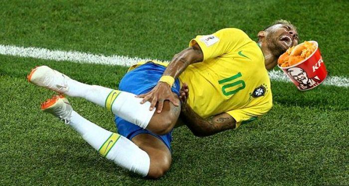 KFC South Africa's Neymar mocking ad… so epic, Nando's would
