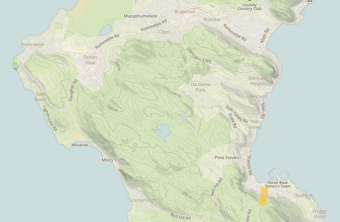 Knysna Fire Map.Live Map Of Cape Fires Shows Most Under Control