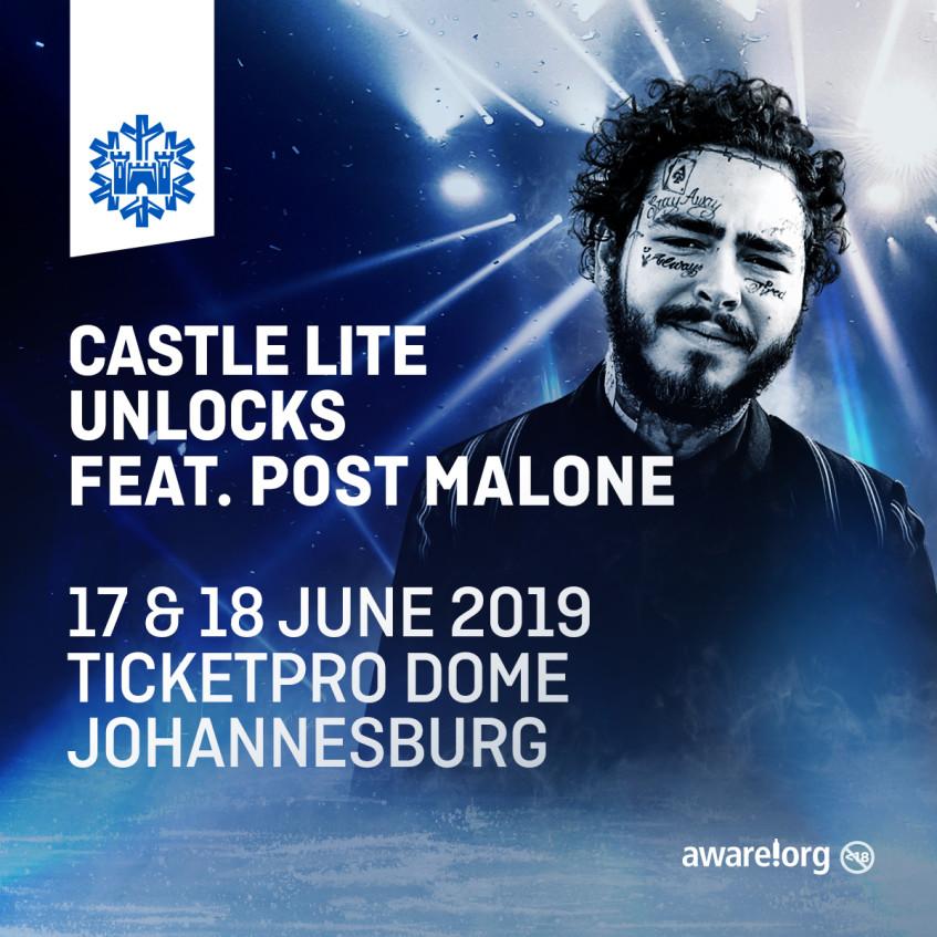 CastleLiteUnlocks 2019 presents    POST MALONE