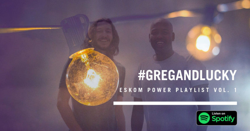 Listen to, and add on, to Greg & Lucky's #Eskom playlist