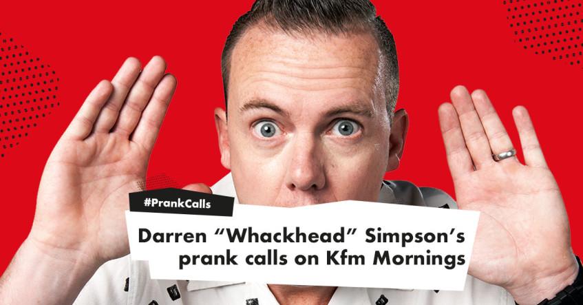"Kfm 94 5 - Features - Darren ""Whackhead"" Simpson's Prank"
