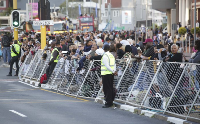Scores of Capetonians lined the streets for the annual Cape Town Canrival which took place in Green Point.