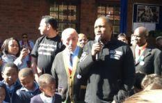 Madiba honoured at Bertrams Junior School