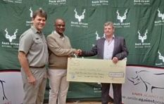 The fight against Rhino poaching gets a R1 Million boost