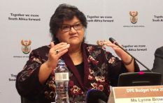Lynne Brown asks PA to resign over #GuptaLeaks