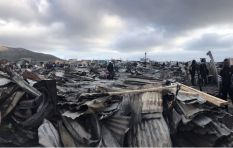 Aid needed for fire-ravaged Masiphumelele township