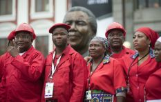 Morning Digest - EFF found guilty, Marikana final arguments, wind power for CPT