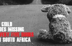A child goes missing every five hours in South Africa - Missing Children SA