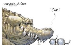 [CARTOON] Crocodile Tears for Bob