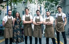 A team of chefs embark on a journey to open 20 pop-up restaurants