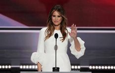 Melania Trump says she wrote her own 'beautiful' speech