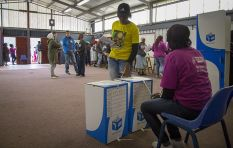 IEC moving voting stations to safer venues as gale force winds damage tents