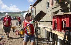 300 volunteers arrive in Cape Town to build schools in Khayelitsha