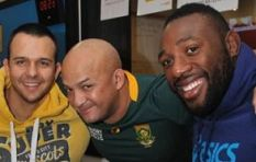 Springboks hit CapeTalk studios to show off their new team jersey