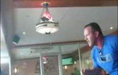 WATCH: Spur bans man after heated spat caught on camera
