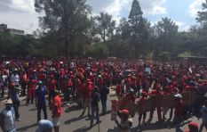 EFF march: stun grenades, rubber bullets fired at Union buildings