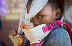 [GALLERY] Nerves, tears and protests: Back to school in Gauteng