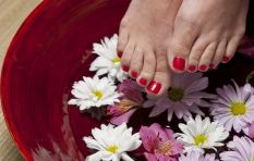 This guilt-free pedicure doesn't use any water