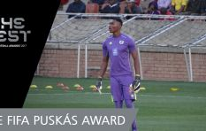 South African Goalie in Top 3 for  Puskás Award