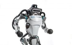 Robots are coming! They're running, jumping and doing the backflip to get here