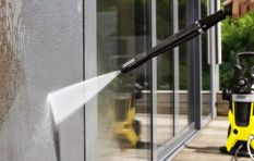 Alternatives to using a high pressure washer in the middle of a drought