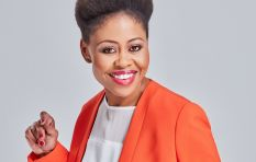 Redi Tlhabi pays Afternoon Drive host Bongani Bingwa a visit this Women's Day