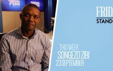 #FridayStandIn Former hard hitting newsman Songezo Zibi takes to the airwaves