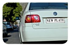 Don't get your hopes up on new number plates, its not a done deal