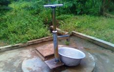 Borehole water is not for sale