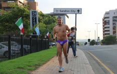 Alberts honours bet to run half-naked if Boks lose to Japan