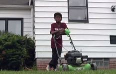 [WATCH] Why did this neighbour call the police on a 12-year-old mowing a lawn?