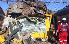 Train crash report: Driver speeding, skipped signal