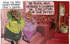 [CARTOON] The Head of Social Services