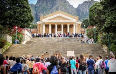 UCT students help homeless worker affected by #FeesMustFall protests