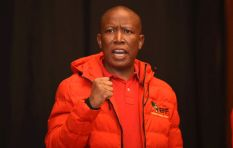 [WATCH] Did Julius Malema fire a rifle in public or was it a simulation?