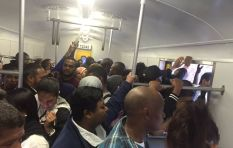 John Maytham braved the train crush to ride on Metrorail...This is what he found