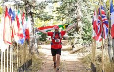 Extreme athlete ran 250 km to raise funds for Nelson Mandela Children's Hospital