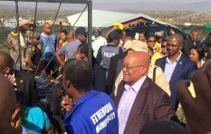 Zuma well-received by voters in Nkandla