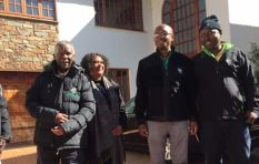 Mbeki meets with ANC candidates after receiving EFF leadership