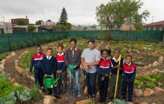 Community garden empowers and feeds 250 learners