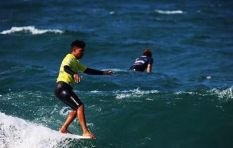 How local surf champ Alfonso Peters used surfing to escape the streets