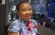 Reaction to Lumka Oliphant not wanting to conduct interview in English