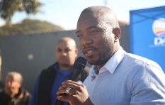 We're not asking the ANC to remove the entire government, just Zuma - Maimane