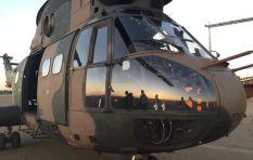The Gautrain vs a Chopper - who wins the race?