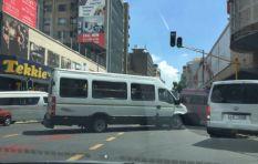 Taxi turf war protests erupt in Joburg CBD