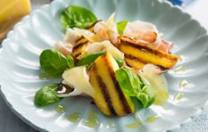 Grilled Nectarine and Pecorino salad
