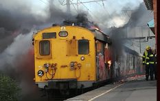 A third Metrorail train goes up in flames in less than a month